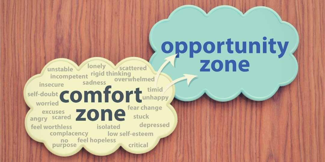 101 ideas to leave your comfort zone